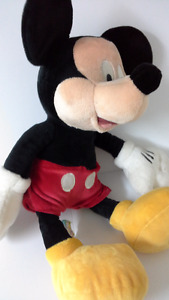 Disney's Mickey Mouse plush about 17 inches tall