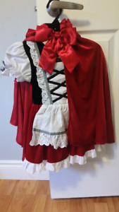Little red riding hood size 3