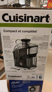 Cuisinart Juicer for sale from 132$ to 75$ only