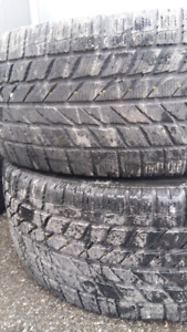 WINTER TIRES  215/55/r17  or  225/45/r17