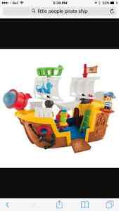 little people pirate ship / bateau pirate