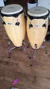 10 and 11 inches congas