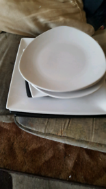Different shape and size plates