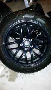 18 inch Wheels with winter tires and sensors