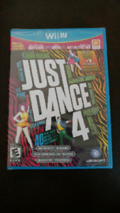 WiiU Just Dance new unopened