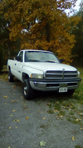 2500 Dodge ram will trade for fishing boat