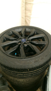 Ford escape tires and rims