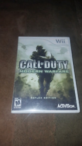 Call of Duty for the Wii Modern Warfare