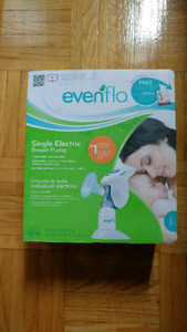 NEW Evenflo single electric breast pump
