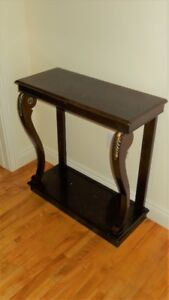 Bombay Co. vintage hall or sofa table