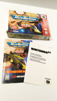 Box & Manual ONLY! Micro Machines 64 Turbo For The Nintendo 64 Ottawa Ottawa / Gatineau Area Preview