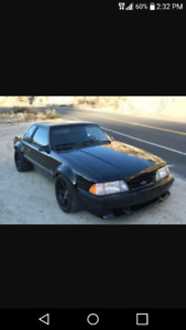 Wanted to buy a 79 to 93 fox body mustang