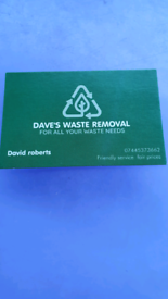 Dave's waste removal