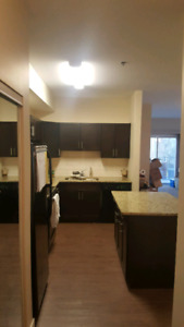 Available immediately-main level corner suite