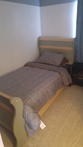 Partially furnished room for rent