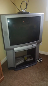 36 Inch Toshiba TV with Matching Stand