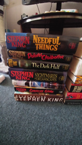 Stephen King Collection of Books for Sale