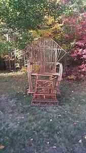 giant rustic chair