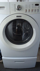 Kenmore Front Load Washer with Pedestal