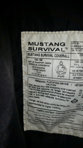 Mustang Integrity Survival Suit