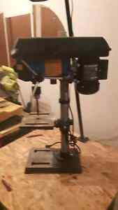 Mastercraft Drill Press with LED