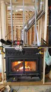 Pellet,Gas,Wood Inserts and Stoves, Furnaces & Duct