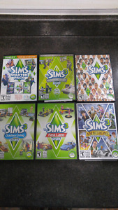 Sims 3 Set of six