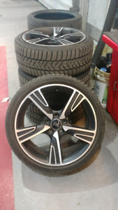 Audi S3 winter tire package -