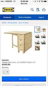 Dining table good for small space