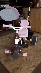 Little Tikes push tricycle with sunshade