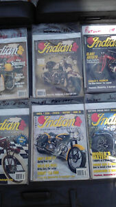 """Indian Motorcycle Illustrated"" Magazines (6)"