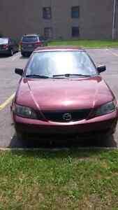 Mazda protege 2002 a vendre pour piece ou pour route