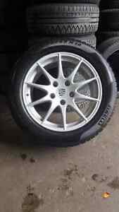 Rims and tires for Porsche Panamera