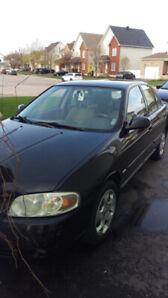 Nissan Sentra 2005 manuelle noire