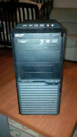 Dual Core Acer Tower loaded with Windows 7