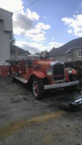 Camion pompier 1929