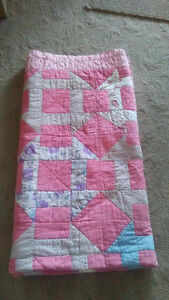 Hand-stitched Full Double Quilt