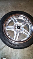 """XXR 502 17"""" Rims with BFGoodwrench Tires"""