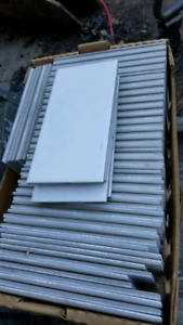"3"" x 6"" white subway ceramic tile"
