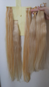 Gorgeous blonde tape in hair extensions 80pcs 200grams 22 inches