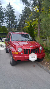 2007 Jeep Liberty Trail rated edition SUV, Crossover