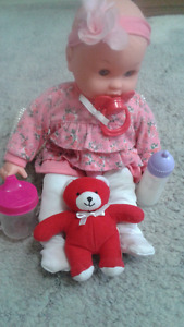 Baby doll set for $8