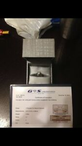 1.00 ct WHITE GOLD ENGAGEMENT RING
