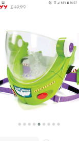 BUZZ LIGHTYEAR HELMET WITH SOUNDS AND LIGHTS EFFECTS