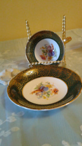Stanley Fine Bone China, England 1975 Teacup and Saucer