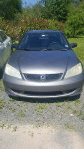 2005 Honda Civic (MVI good until April 2020)
