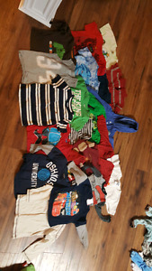 Boys 2T T-shirts and Long Sleeved Shirts
