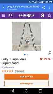 Jolly Jumper on super stand