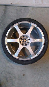 17 inch Enkei T2 rims and tires