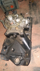 Holley throttle body and intake for sbc